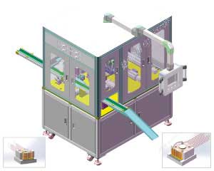 Copper wire assembly machine